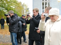 030 Mälestussammas Tšornobõli meestele. Foto: Urmas Saard