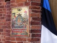 003 Mälestustahvlite avamine EAÕK Tahkuranna kirikus. Foto: Urmas Saard