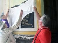 011 Mälestustahvlite avamine EAÕK Tahkuranna kirikus. Foto: Urmas Saard