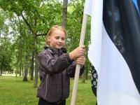007 Maraton Eesti Vabariik 100 läbib Sindit. Foto: Urmas Saard