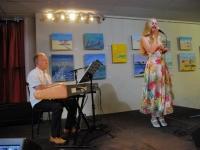 001 Indrek Oselein ja Maret Palusalu Endla Jazzklubis. Foto: Urmas Saard