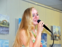 002 Maret Palusalu Endla Jazzklubis. Foto: Urmas Saard