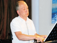 004 Indrek Oselein Endla Jazzklubis. Foto: Urmas Saard