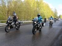 013 Mootorrattahooaja avapäeva paraadsõit läbib Sindit. Foto: Urmas Saard