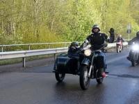 015 Mootorrattahooaja avapäeva paraadsõit läbib Sindit. Foto: Urmas Saard