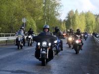 016 Mootorrattahooaja avapäeva paraadsõit läbib Sindit. Foto: Urmas Saard