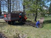 001 Multifunktsionaalne uus traktor Sindis. Foto: Urmas Saard