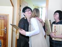 003 Naistepäev Sindi sotsiaaltöökeskuses. Foto: Urmas Saard