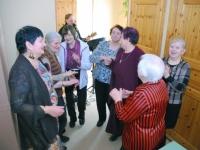 009 Naistepäev Sindi sotsiaaltöökeskuses. Foto: Urmas Saard
