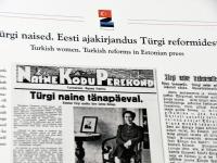 """011 Näitus """"Türgi Eesti sõprus läbi aegade"""" Raeküla Vanakooli keskuses. Foto: Urmas Saard"""