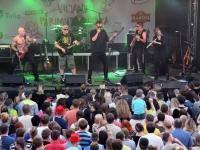 014 Nikns Suns Viljandi pärimusmuusika kontserdil. Foto: Urmas Saard