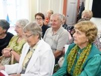 002 Olga Belash-Karasjova isikunäituse avamine Sindi muuseumis. Foto: Urmas Saard