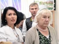 003 Olga Belash-Karasjova isikunäituse avamine Sindi muuseumis. Foto: Urmas Saard