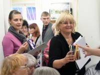 012 Olga Belash-Karasjova isikunäituse avamine Sindi muuseumis. Foto: Urmas Saard