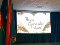 003 Õpetajate päev Sindi gümnaasiumis. Foto: Urmas Saard