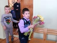 008 Õpetajate päeva tähistamine Sindi gümnaasiumis. Foto: Urmas Saard