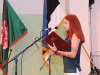 012 Õpetajate päeva tähistamine Sindi gümnaasiumis. Foto: Urmas Saard