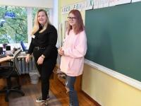 014 Õpetajate päeva tähistamine Sindi gümnaasiumis. Foto: Urmas Saard