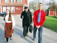 Eliise Kull, Konstantin Tšernov, Raik-Hiio Mikelsaar Foto Urmas Saard