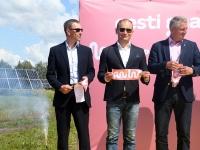 042 Paikre päikesepargi avamine Pärnus. Foto: Urmas Saard