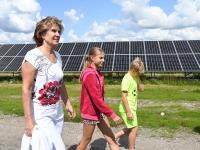 054 Paikre päikesepargi avamine Pärnus. Foto: Urmas Saard