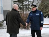 005 Paikusel avati politsei- ja piirivalvekolledži lasketiir. Foto: Urmas Saard