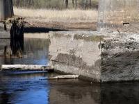 001 Pärnu jõgi Sindi silla kohal pärast paisu mahavõtmist. Foto: Urmas Saard