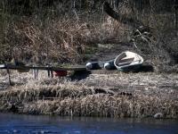 006 Pärnu jõgi Sindi silla kohal pärast paisu mahavõtmist. Foto: Urmas Saard