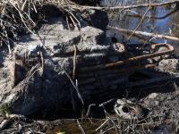 015 Pärnu jõgi Sindi silla kohal pärast paisu mahavõtmist. Foto: Urmas Saard