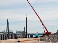 006 Pärnu kruiisisadama ehitus. Foto: Urmas Saard