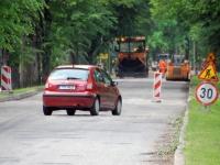 001 Pärnu maantee remont Sindis. Foto: Urmas Saard