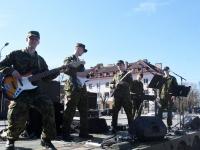 011 Pärnu päeval Sinilillejooksul ja Keskväljakul. Foto: Urmas Saard