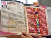 002 Y's Men Aafrika piirkonna konverentsil oselenud riikide loetelu. Foto: Urmas Saard