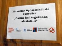 026 Pärnumaa õpilasesinduste õppepäev Sindis. Foto: Urmas Saard