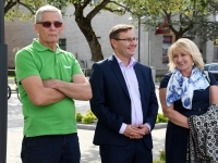 001 Pärnus kuulutati koolirahu välja. Foto: Urmas Saard