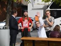 013 Pärnus kuulutati koolirahu välja. Foto: Urmas Saard