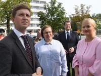 018 Pärnus kuulutati koolirahu välja. Foto: Urmas Saard