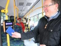 007 Pärnus uued bussid, uus piletisüsteem. Foto: Urmas Saard