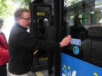012 Pärnus uued bussid, uus piletisüsteem. Foto: Urmas Saard