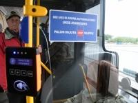 013 Pärnus uued bussid, uus piletisüsteem. Foto: Urmas Saard