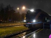 001 Pärnust Tallinna väljunud viimasel reisirongil. Foto: Urmas Saard