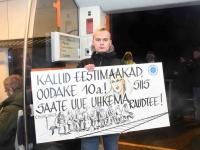 021 Pärnust Tallinna väljunud viimasel reisirongil. Foto: Urmas Saard