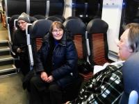 022 Pärnust Tallinna väljunud viimasel reisirongil. Foto: Urmas Saard