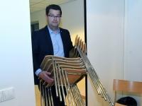 001 Peaminister ja majandusminister Pärnus. Foto: Urmas Saard