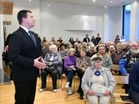 006 Peaminister ja majandusminister Pärnus. Foto: Urmas Saard