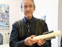 007 Piccolo näitus Sindi linnaraamatukogus. Foto: Urmas Saard