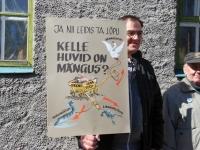 007 Probleem Pärnu turuga tõi piketeerijad välja. Foto: Urmas Saard