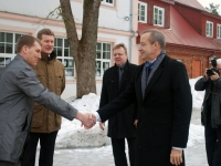 005 Pildigalerii ametist lahkuvast president Toomas Hendrik Ilvesest. Foto: Urmas Saard