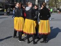 001 Rahvusvaheline tantsupäev Tallinnas. Foto: Urmas Saard