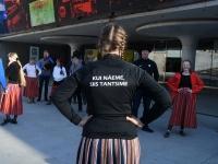 004 Rahvusvaheline tantsupäev Tallinnas. Foto: Urmas Saard